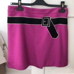 Sonia Rykiel pink wool skirt